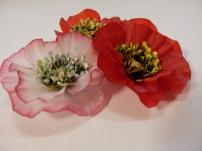 vellum poppy, Flower of the Month, An Inkin' Stampede, Darlene Plotinski